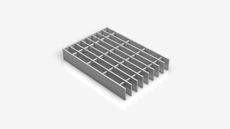 INDURO® Aluminiumgitterrost - A 17,5x50