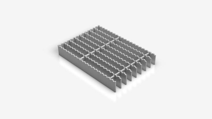 INDURO® Aluminium grating - S 17,5x100