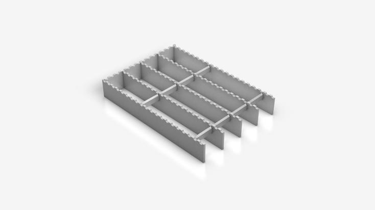 INDURO® Aluminium grating - S 35x100